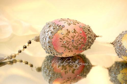 "Pisanka ""Faberge Pink"""
