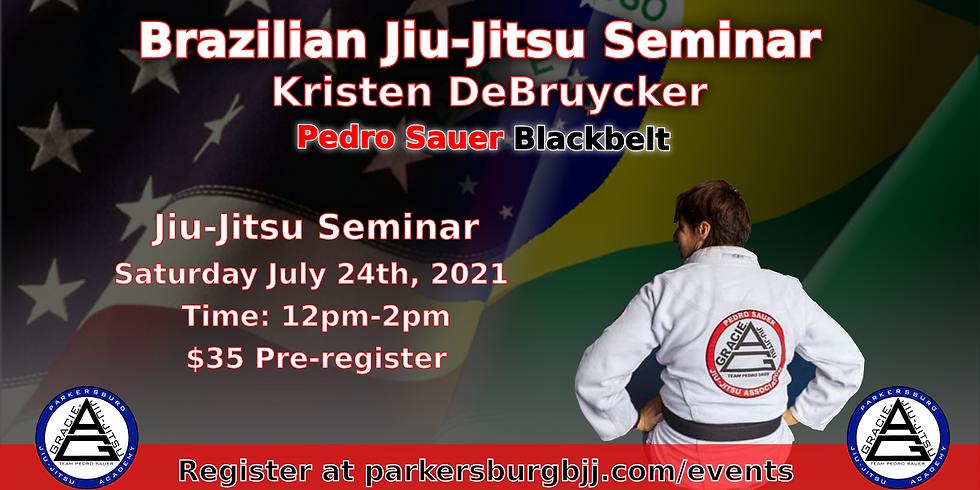 Kristen DeBruycker Jiu-Jitsu Seminar