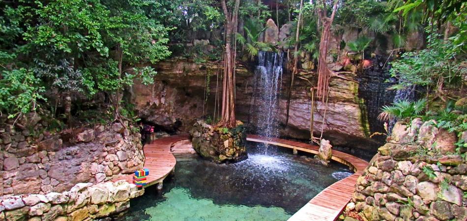 Xcaret-Children's-World-cenote