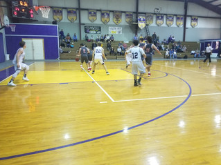 Cornerstone Chargers varsity boys get a win