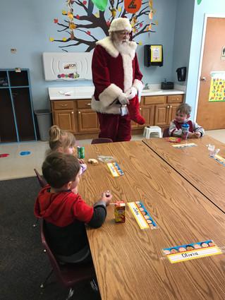 K3 got a visit from Santa!