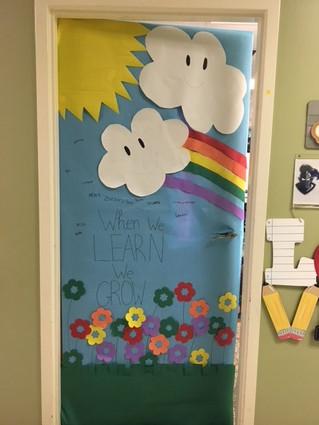 The 5th grade door.