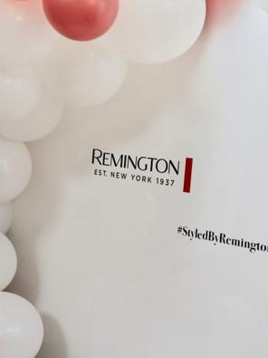 Free Hair Styling at Remington Pop-Up Salon