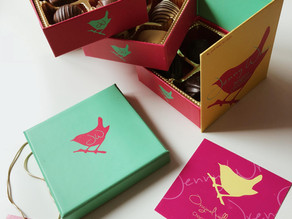 Jenny Wren, the cutest chocolate boxes
