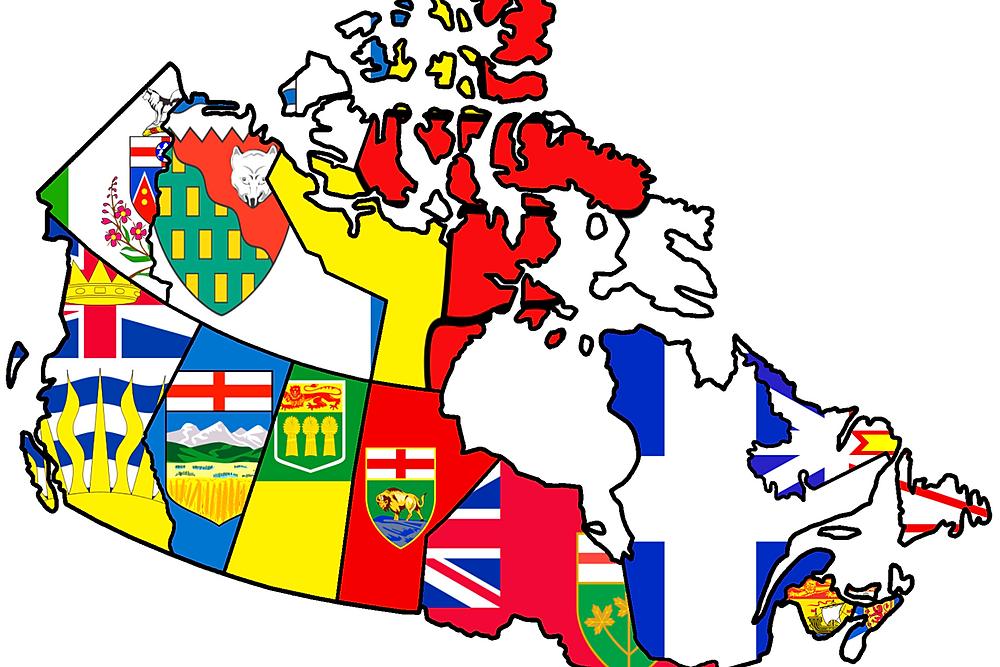 kanada eyalet haritası