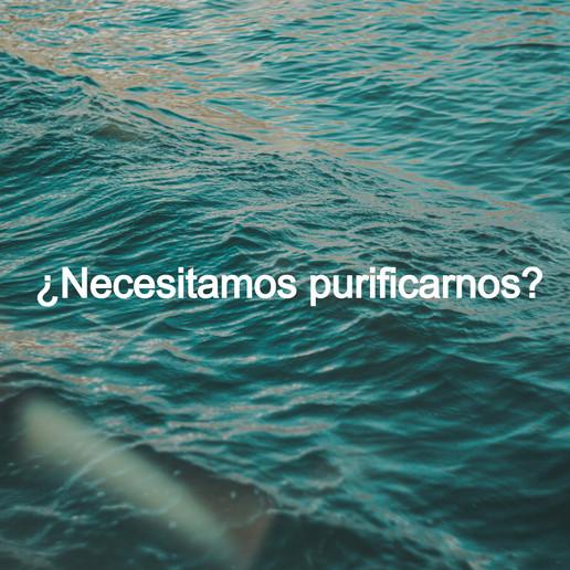 ¿Necesitamos purificarnos?
