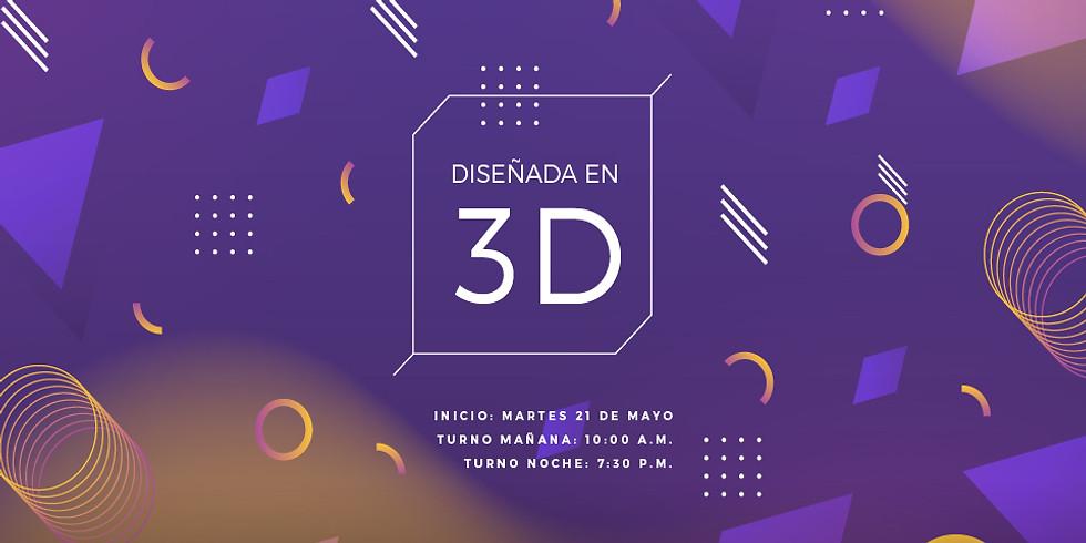 Diseñada en 3D