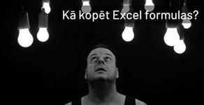 Kā kopēt Excel formulas? [video]