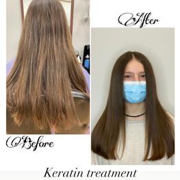 Keratine treatment