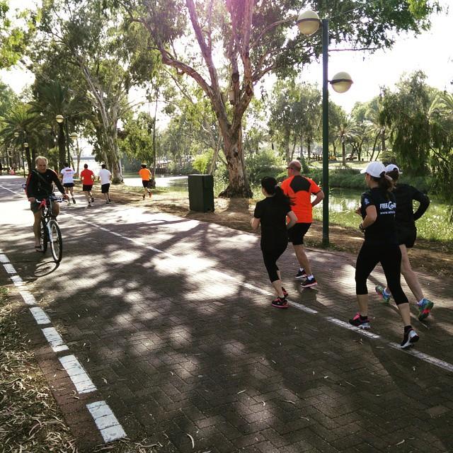 ריצת נפח בפארק