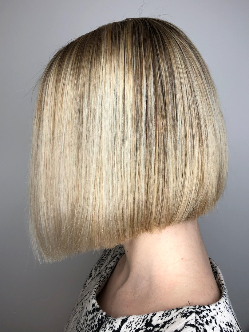Sleek Bob Haircut