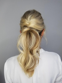 Bride's Hair done by Crystal