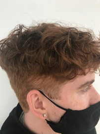Teen Boy's Haircut