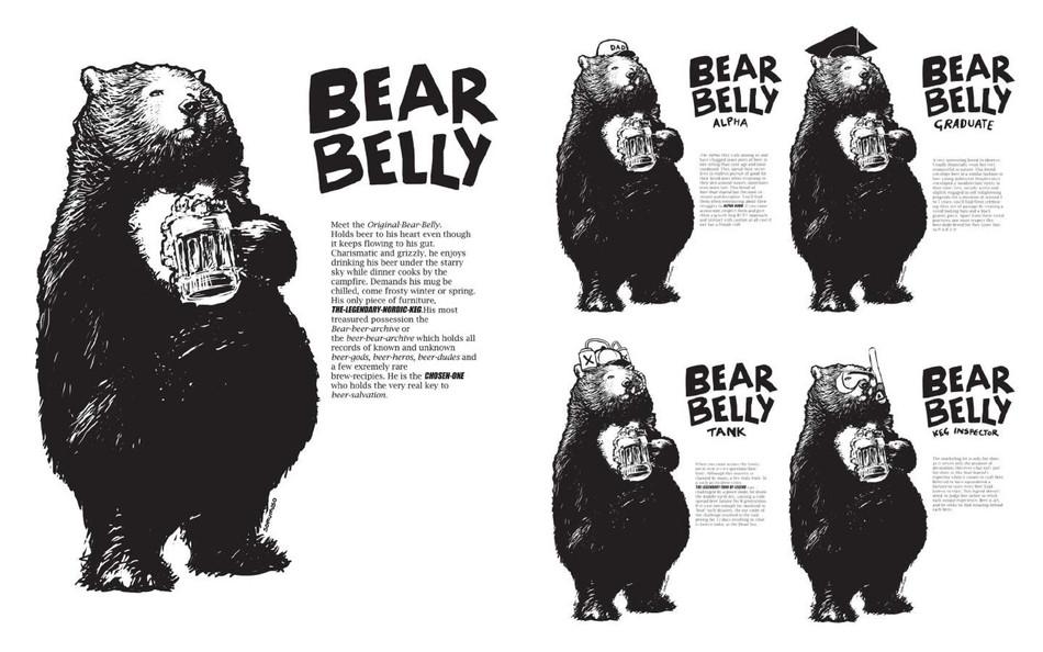 Bear belly