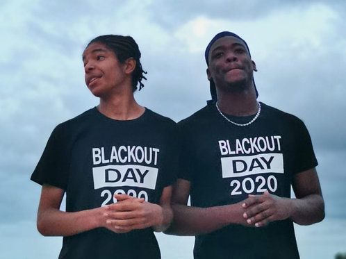 Tee-shirt BlackOutDay