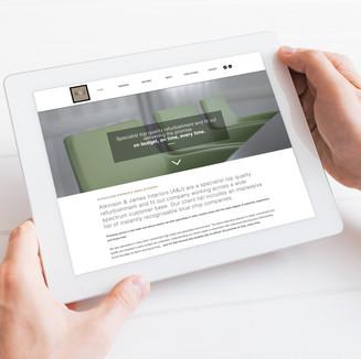 A&J Interiors - Website