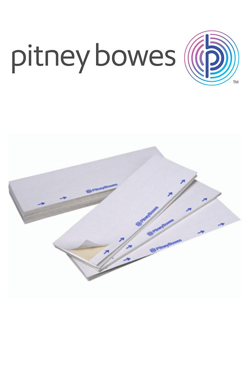 Pitney Bowes Single Franking Machine Labels - 1000 Pack