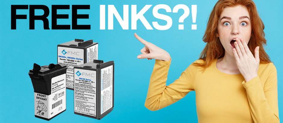 FREE Franking Inks from FMC!