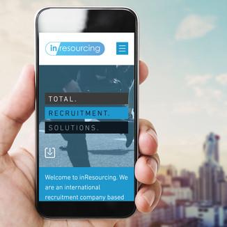 Inresourcing - Website