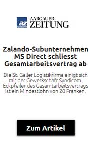 Beitrag Aargauer Zeitung
