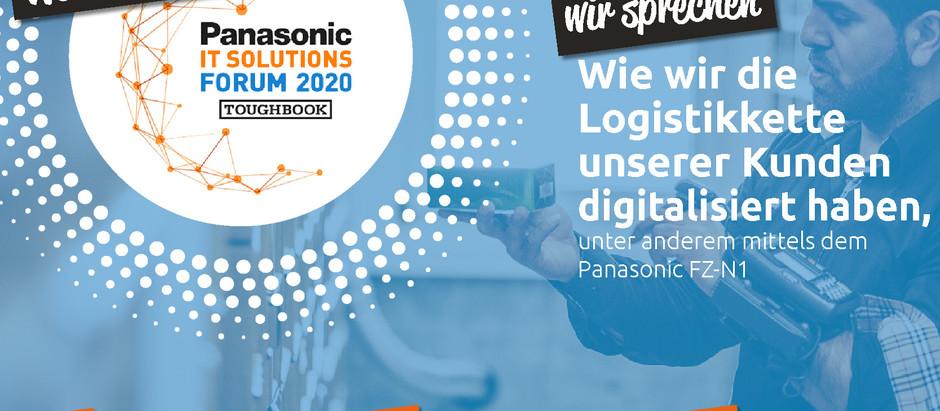 📣 Wir freuen uns morgen Gast sein zu dürfen am 9. Panasonic IT Solutions Forum in Düsseldorf.