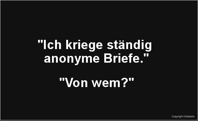 Anonyme Briefe