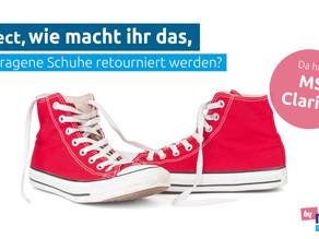MS Direct, wie macht ihr das, wenn getragene Schuhe retourniert werden?