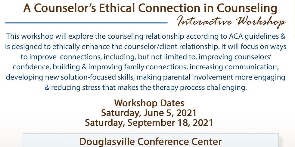 Struggle No More: A Counselor's Ethical Connection in Counseling (1)