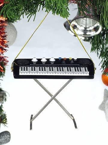 Keyboard Holiday Ornament