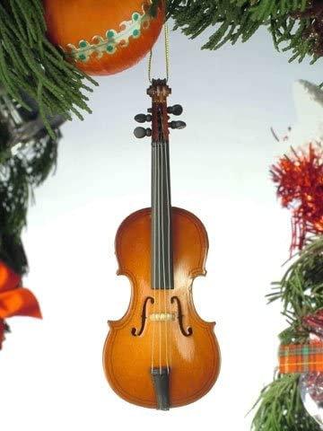 Violin Holiday Ornament