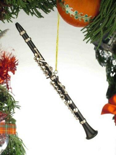 Clarinet Holiday Ornament