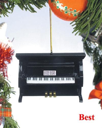 Piano Holiday Ornament