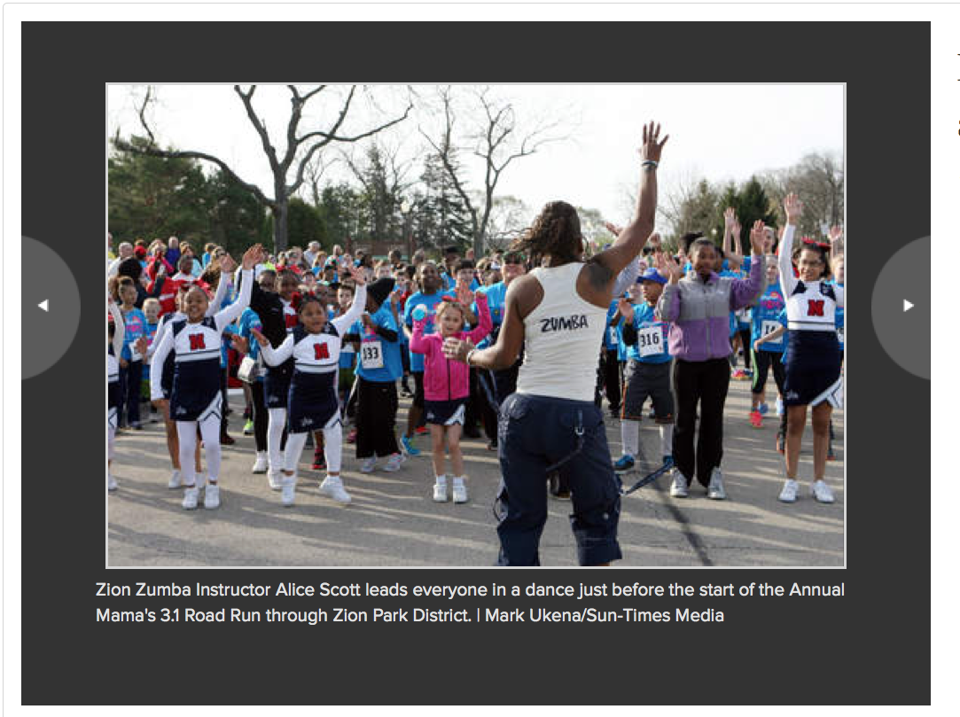 Sun Times article - Annual Run event