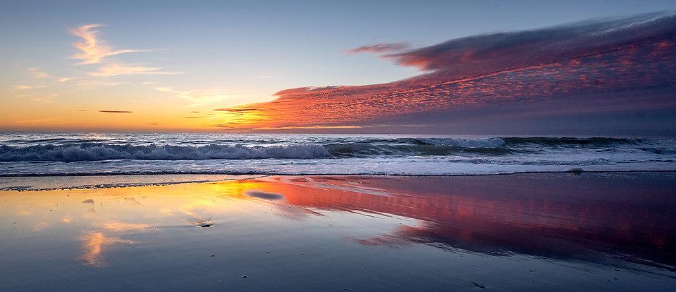 Fiery Reflections - San Clemente