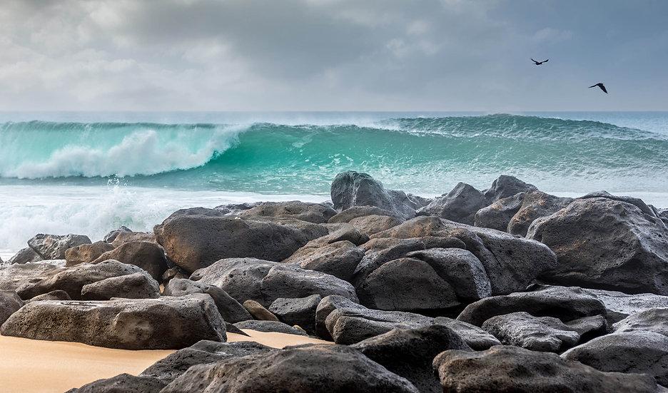Rock Piles Beach