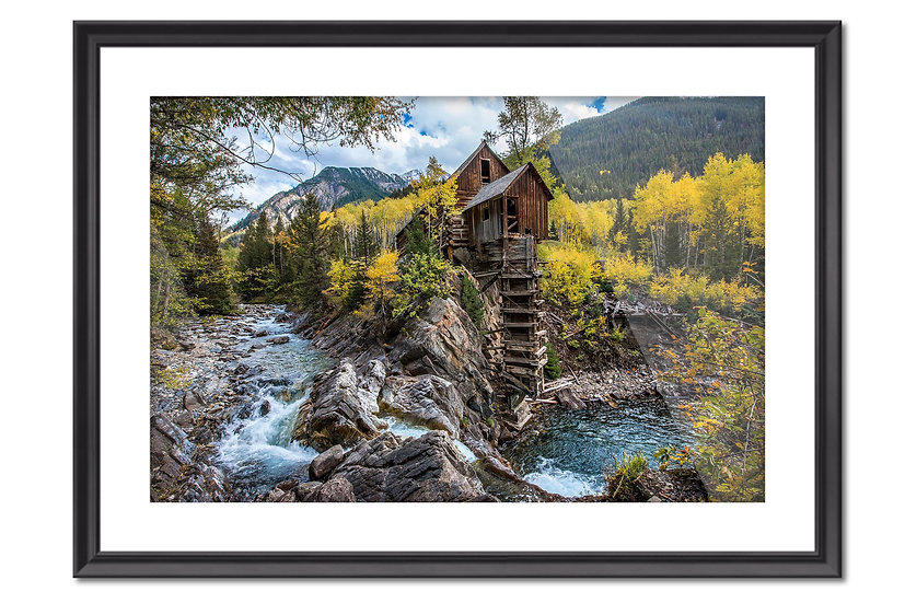 Black Frame with Quality Print