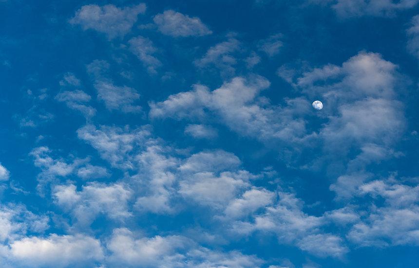 Cloudy Moon - San Clemente
