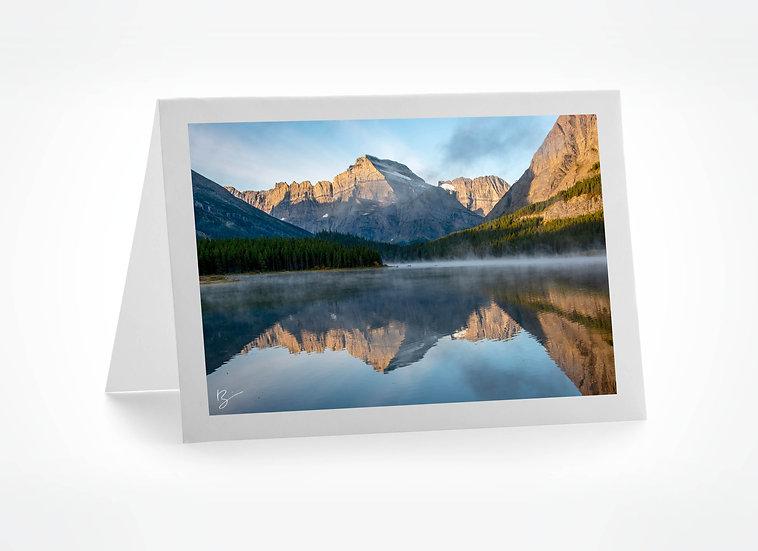 Mt Blanc on Swift Current Lake  - Montana