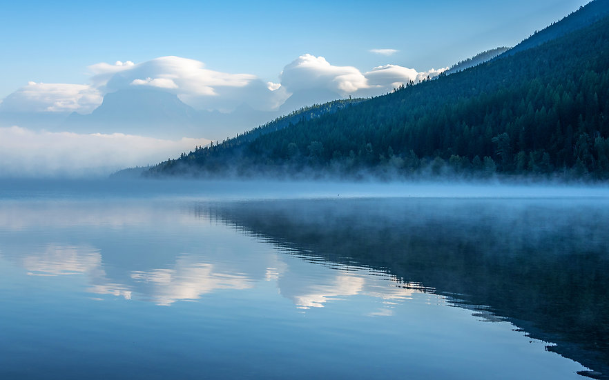 Reflections of Lake McDonald