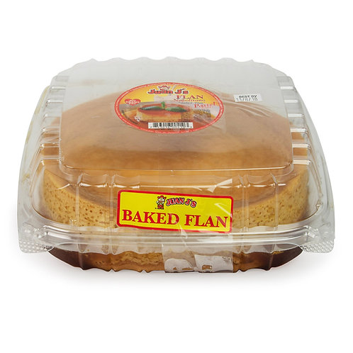 Family Size (50 oz.) Home Baked Flan Pastel
