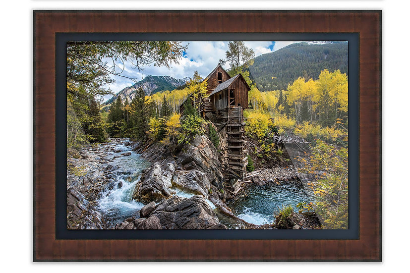 Frame with Floater Acrylic Panel