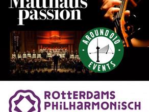 Beleef de passie van Bachs meesterwerk met Around010 en het Rotterdams Philharmonisch Orkest