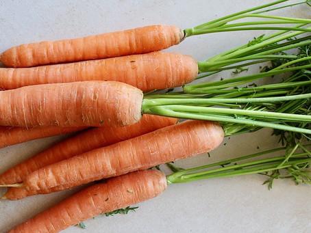 Votre ostéopathe de Champhol Chartres vous parle de la mono-diète de carottes.