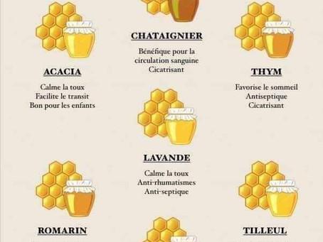 La santé au naturel avec le miel au cabinet d'ostéopathie de Champhol-Chartres