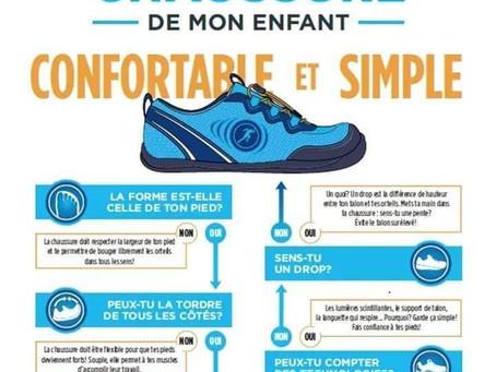 Comment bien choisir ses chaussures ? Votre ostéopathe de Champhol-Chartres vous donne son avis