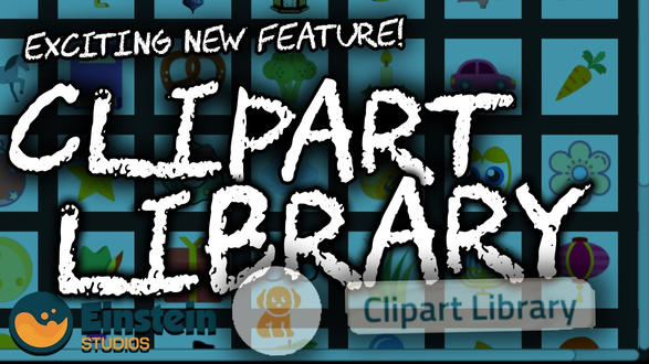 8. How to use the clipart library