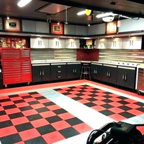 Car Garage Ideas With Sonos Speakers And Security Cameras