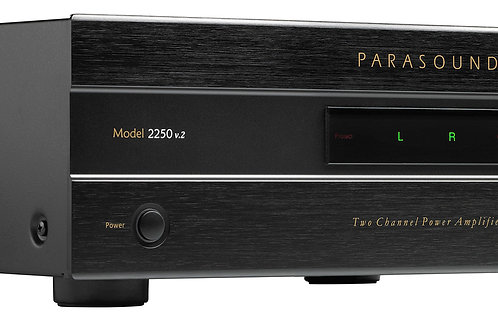 NJ Dealer for Parasound NewClassic 2250 v.2 Two Channel Power Amplifier