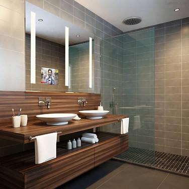 Mirror TV Installation for Smart Bathroom Spring Lake NJ