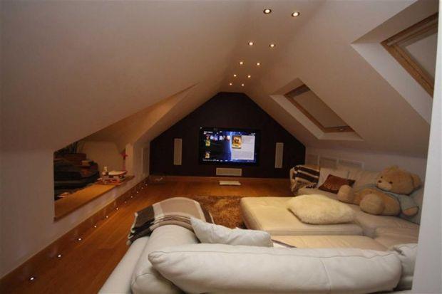 Home Theater Attic Room Ideas Ocean NJ